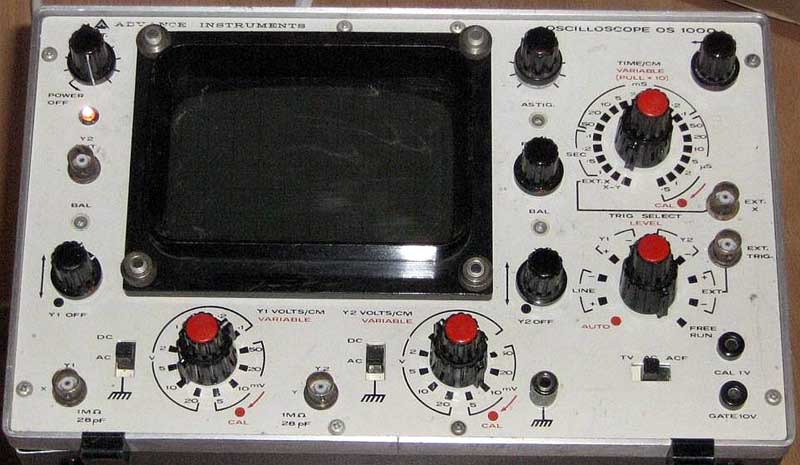 Oscilloscope Model Number : Electronic test equipment model numbers