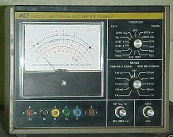 Electronic Test Equipment Model Numbers
